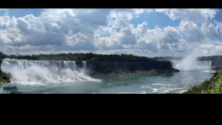 Check out Niagara Falls remotely and in extreme detail.