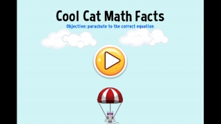 The Cool Cat Math Facts game left a lot to be desired.