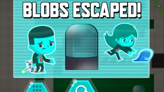 If you don't plan and build well, the blobs escape and you get to try again.