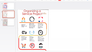 Drop files into PowerPoint to create dynamic presentations.