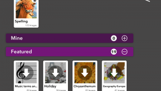 Choose from dozens of word packs or create a custom list from your own words and images.