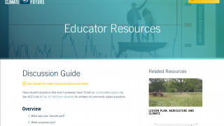 Extensive educator resources are available, so teachers can combine the video clips with deeper lessons and discussions.