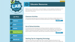 Three top-notch components are available through the section's main page.