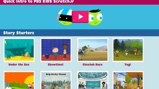 Start from scratch or choose a story starter scene to customize.