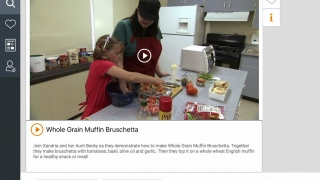 Videos range from documentaries to clips from popular PBS and PBS Kids series to demonstrations, such as this one showing how to make a healthy snack.