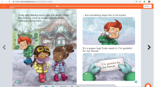 Digital storybooks offer a read-aloud feature.
