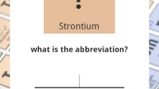 A sample question from the Quiz section of Periodic Table.