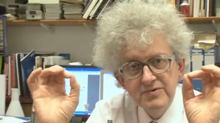 Eccentric Professor Poliakoff, expert chemist, appears in most videos.