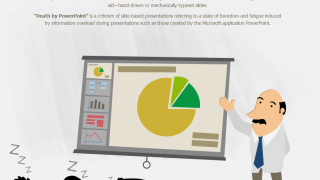 Piktochart is a step up from the presentation tools you're used to.