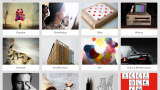 Search, explore, find, and save images and ideas for later use.