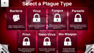 Seven plague types teach concepts; can be unlocked in any order with purchase.