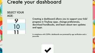 In the dashboard, teachers can set up profiles to track use.
