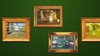 Display creations in the in-app museum.