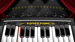 "Performance mode: Play songs ""on stage"" and follow highlighted keys. Kids can earn points by playing the correct melody and tempo."