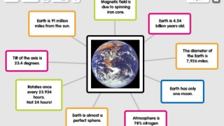 Popplets can include images, text, video, or drawings.