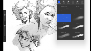 Usefully varied pencil strokes for sketching and drawing.