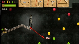 Players guide a mummy to safety by finding missing lengths in geometric figures.
