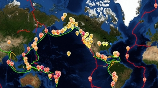 Pinpoint earthquake activity with clear, colorful maps.