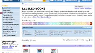 It's easy to find leveled texts.