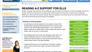 Specific ELL support is available.