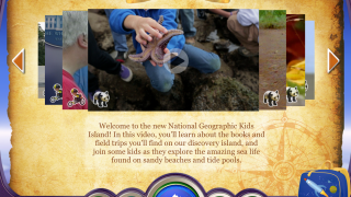 Video field trips include clips from National Geographic, classics from the original TV series, and new ones made specifically for the app.