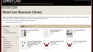 Mine the resource library for worksheets, lesson plans, and info sheets about the Supreme Court.