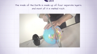 Kids learn about Earth's layers.