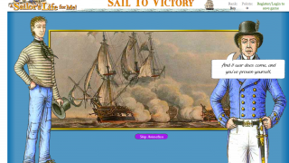 The homepage of A Sailor's Life for Me: Sail to Victory