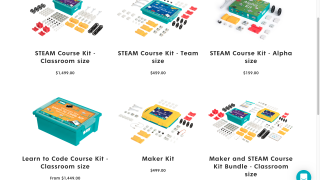 Kits are necessary to use the tool and come in a variety of sizes and prices.