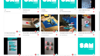 A gallery of user projects and lesson plans is available on the site.