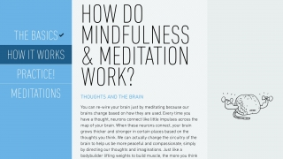 The app contains extensive scientific and philosophical information about meditation, all written in accessible language that's appropriate for kids or adults.