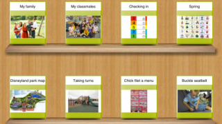Create books for everything from menus and maps to social stories and science flash cards.