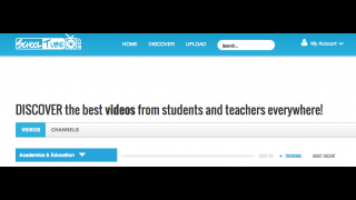 """SchoolTube features the most popular videos on the """"Discover"""" page."""