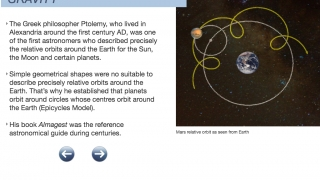 Kids learn about gravity and other important science concepts.