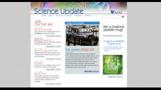 Science Update features daily science podcasts.