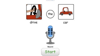 Students can record their own voices as they practice speaking the correct phrase.