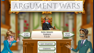 Argument Wars: a courtroom sim based on real Supreme Court cases.