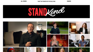 The Bystander Revolution site features bullying prevention tips and advice-based videos.