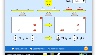 Balancing chemical equations has never been easier, though there aren't a ton of reactions to play with.