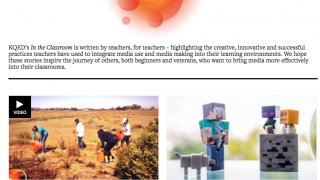 This section highlights successful teacher practices.