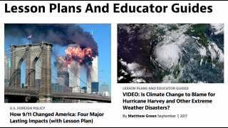 Lesson plans and educator guides help teachers with classroom implementation.