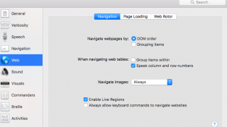 Navigation options allow personalized use, which can be used around the web.