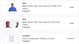 Teaching strategies include instructional videos and other lesson ideas.