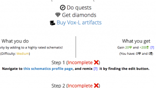 Quests include step-by-step instructions.