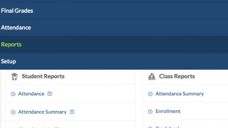 Use the teacher dashboard to navigate your gradebook and set preferences.