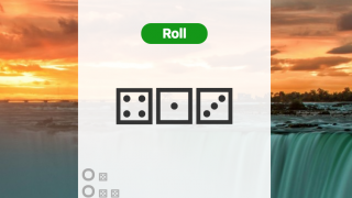 Use a dice roll to manage situations of chance.