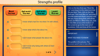 Students can apply learned concepts to their own strengths and interests.