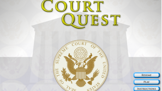 Web-based game helps players learn about the U.S. court system.