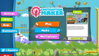 Colorful interface invites players to tinker with the machines.