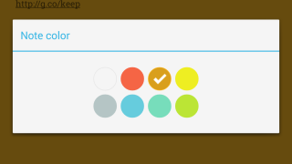 Users can color-code their notes for easy searching and at-a-glace reference.